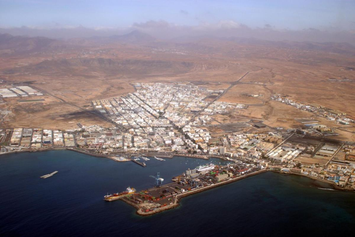 Puerto Del Rosario Capital Of Fuerteventura