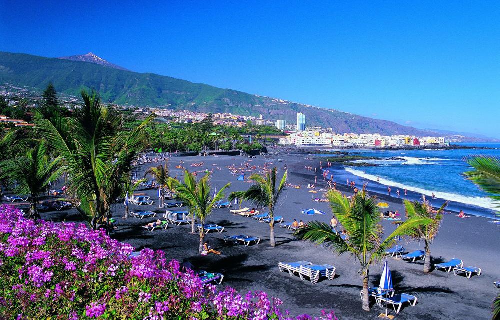 Spiaggia di playa jardin tenerife - Playa puerto de la cruz tenerife ...