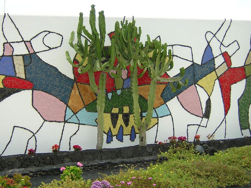 The cesar manrique foundation in lanzarote - Lanzarote casa de cesar manrique ...