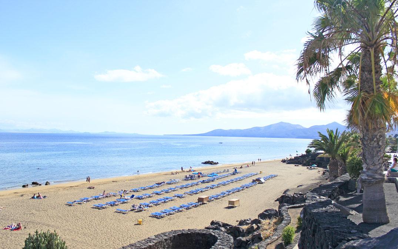 Playa Grande Beach Puerto Del Carmen Lanzarote